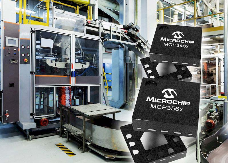 Microchip представи две нови фамилии високоскоростни АЦП