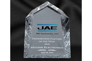 JAE Electronics обяви Mouser за дистрибутор на годината