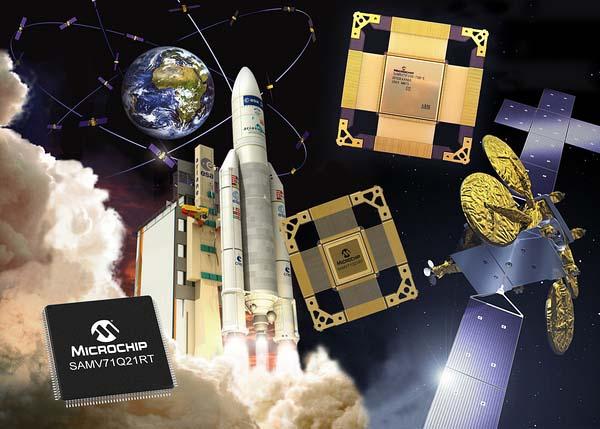Microchip представи микроконтролери за космически приложения с Arm ядро