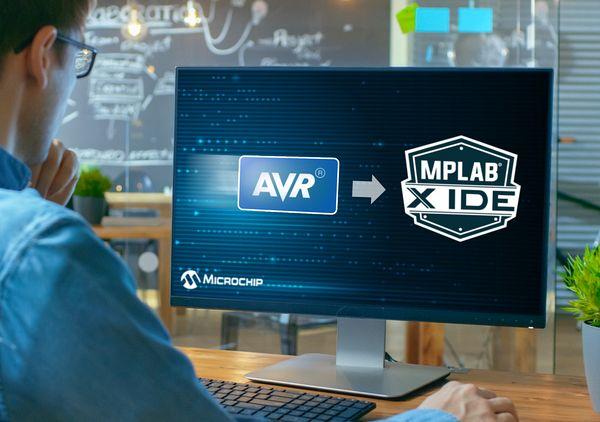Microchip включи бета поддръжка на AVR микроконтролери в развойната среда MPLAB X