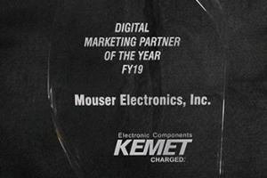 Mouser Electronics с годишната награда на Kemet за електронна търговия