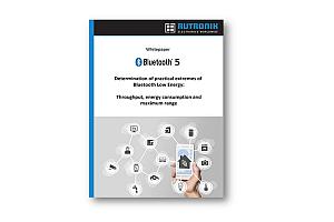 Rutronik представи бяла книга за приложенията на Bluetooth Low Energy 5