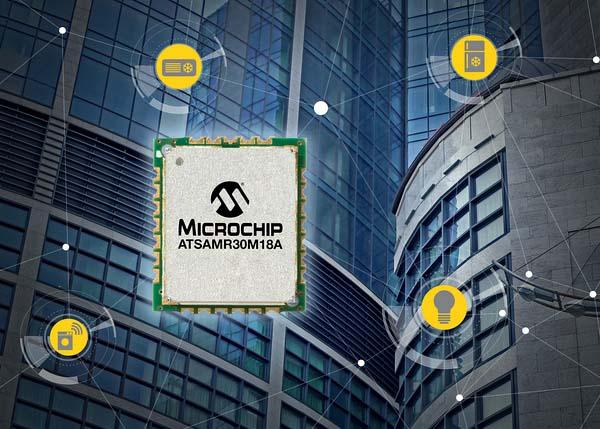 Microchip представи най-малкия IEEE 802.15.4 модул