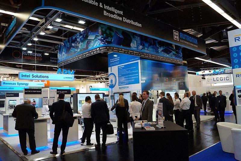 Rutronik на изложението embedded world 2019