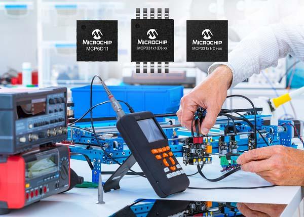 Microchip представи 12 нови АЦП