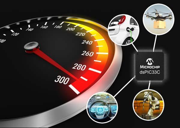 Microchip представи нови dsPIC цифрови сигнални контролери