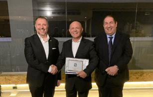 TTI получи наградата на Molex за дистрибутор на годината в Южна Европа
