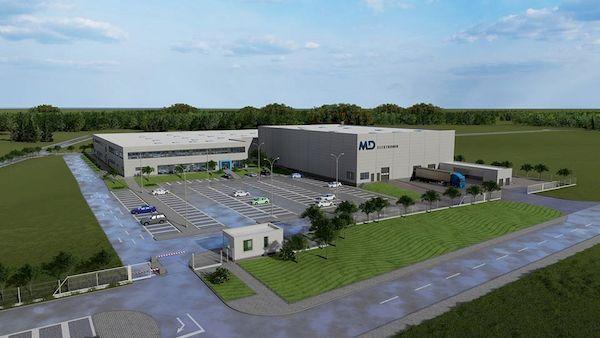 MD Elektronik строи завод за автомобилни компоненти във Враца