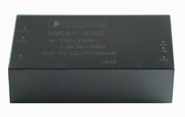 Aimtec обяви нов ценово ефективен 60W AC/DC преобразувател