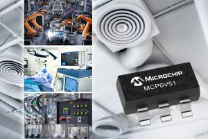 Microchip представи нов операционен усилвател с нулев дрейф