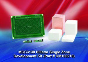 Спечелете развоен комплект за 3D управление с жестове MGC3130 Hillstar от Microchip