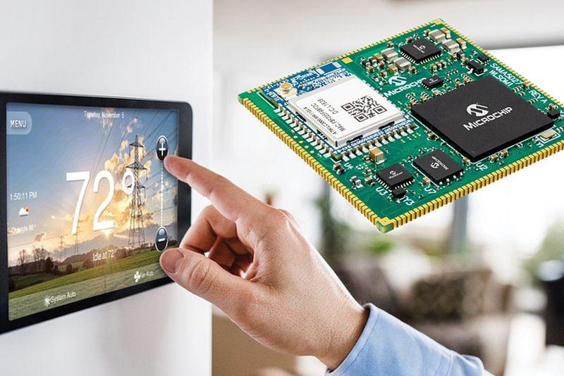 Microchip пусна безплатен комплект за разработка на графични потребителски интерфейси