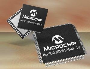 Microchip анонсира нова фамилия dsPIC цифрови сигнални контролери