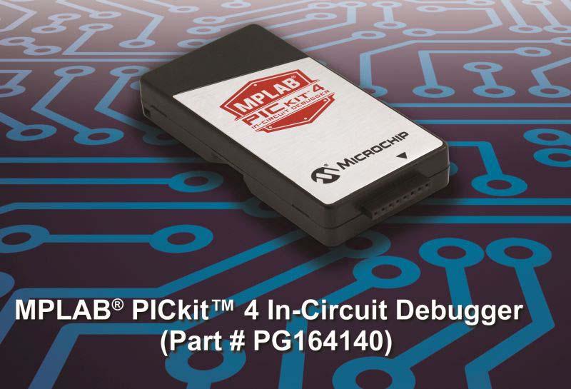 Спечелете Microchip MPLAB PICkit 4 вътрешносхемен дебъгер!