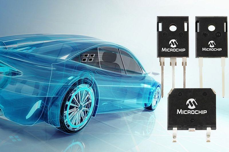 Microchip представи нови силови модули със SiC Шотки диоди за автомобилостроенето
