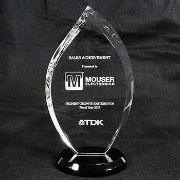 <strong>Mouser</strong> <strong>Electronics</strong> получи награда за най-висок ръст на продажбите от TDK