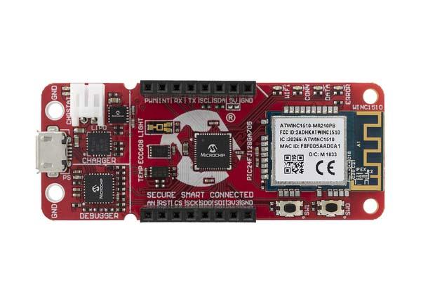 Microchip представи развойна платформа за свързване на PIC микроконтролери към Google Cloud
