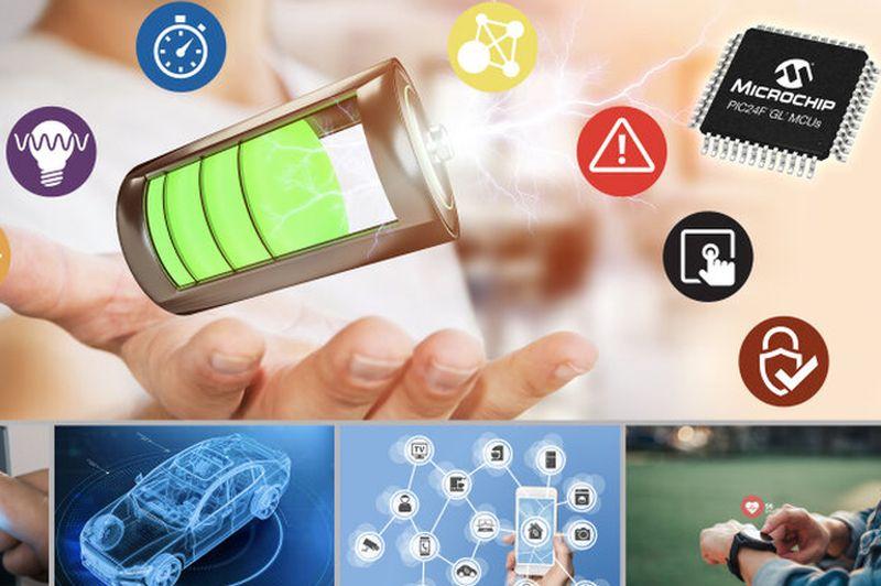 Microchip представи енергоефективни <strong>микроконтролери</strong> с драйвер за LCD анимация