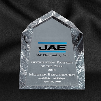 JAE <strong>Electronics</strong> обяви <strong>Mouser</strong> за дистрибутор на годината