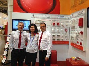 Телетек Електроникс отчете успешно участие на Security Essen 2014