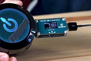 Измерване консумацията на енергия с PAC1934 USB-A на Microchip