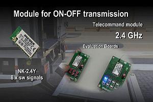 Модул за телеуправление NK-2.4Y на Circuit Design