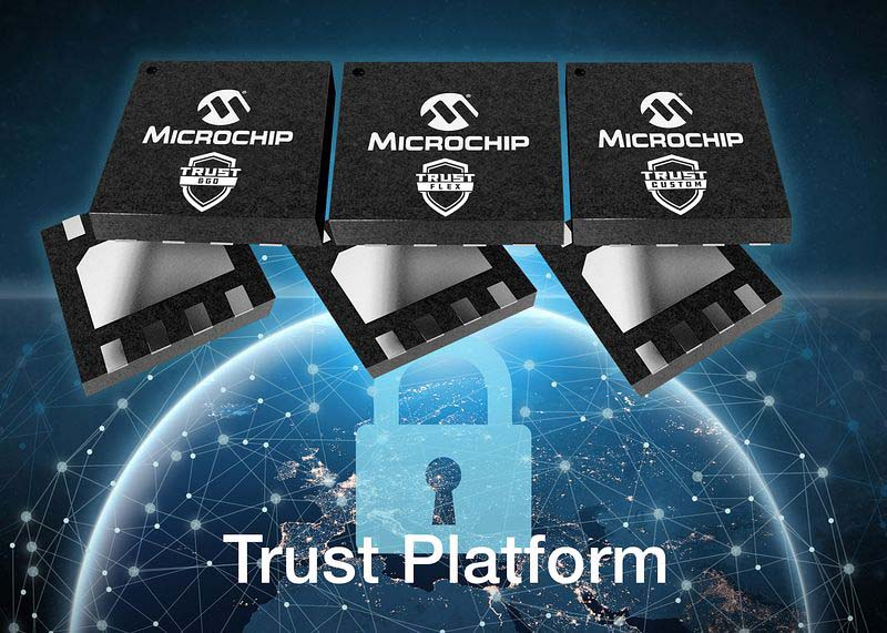 Microchip представи нова платформа за хардуерна защита