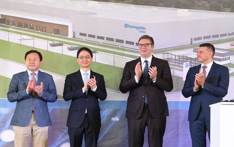 Kyungshin започна строителство на нов завод в Сърбия