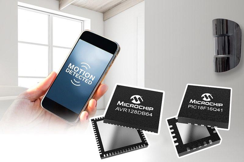 Microchip представи две нови микроконтролерни фамилии за обработка на аналогови и цифрови сигнали