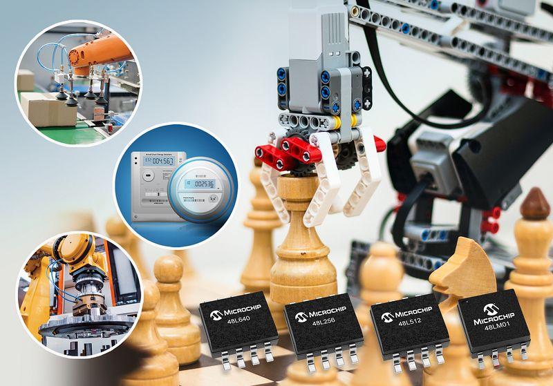 Microchip представи нова фамилия EERAM със сериен интерфейс