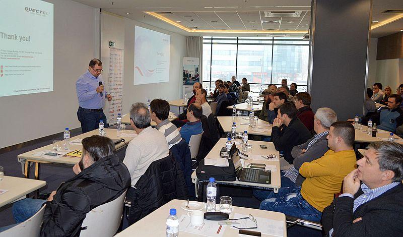 Над 90 специалисти се включиха в семинар на Комет Електроникс, Quec<strong>te</strong>l и A1