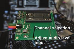 Circuit Design: Платка за тестване на аудио модули WA-TX-03S и WA-RX-03S