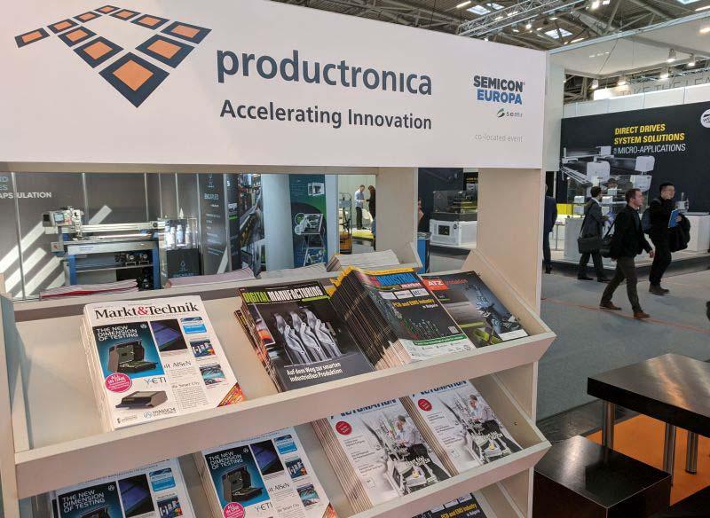 Днес започна productronica 2019