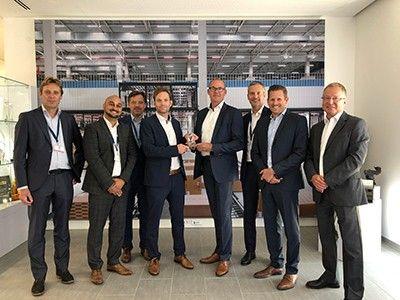 <strong>TTI</strong> спечели награда за най-добър европейски дистрибутор от Amphenol