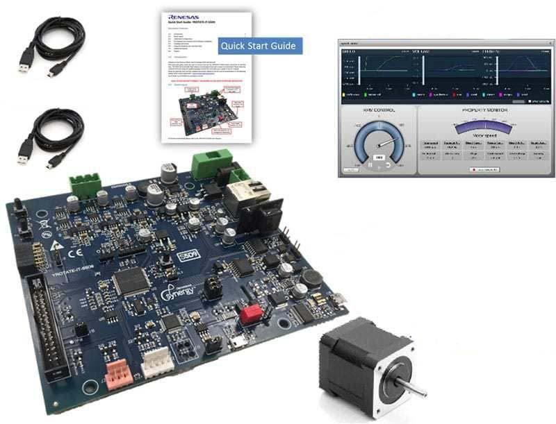 Развоен комплект <strong>Renesas</strong> S5 Synergy Inverter Kit