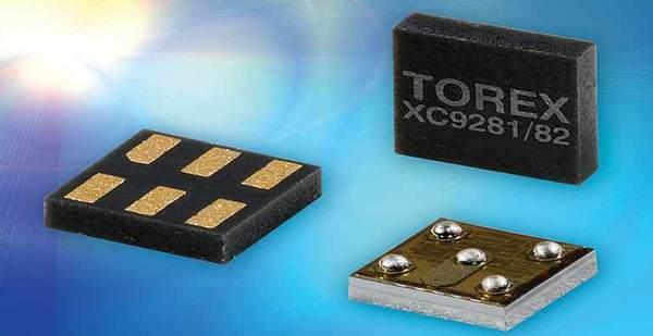 TOREX XC9281/82 - най-малкият 600 mA понижаващ DC/DC преобразувател в света