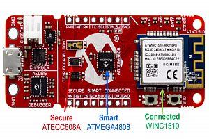 Microchip: Развойна платка AVR IoT WG