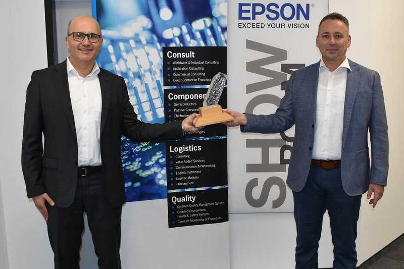 Rutronik получи награда от Epson за най-добър европейски дистрибутор през 2019 г.