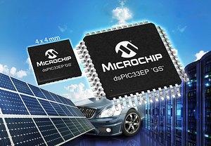 Microchip представи нова серия DSC за цифрови захранвания