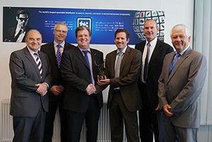 TTI получи награда за европейски дистрибутор на годината от <strong>FCI</strong>