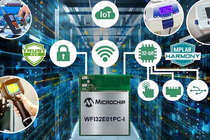 Microchip представи Wi-Fi модул с развити Trust&GO функции за сигурност