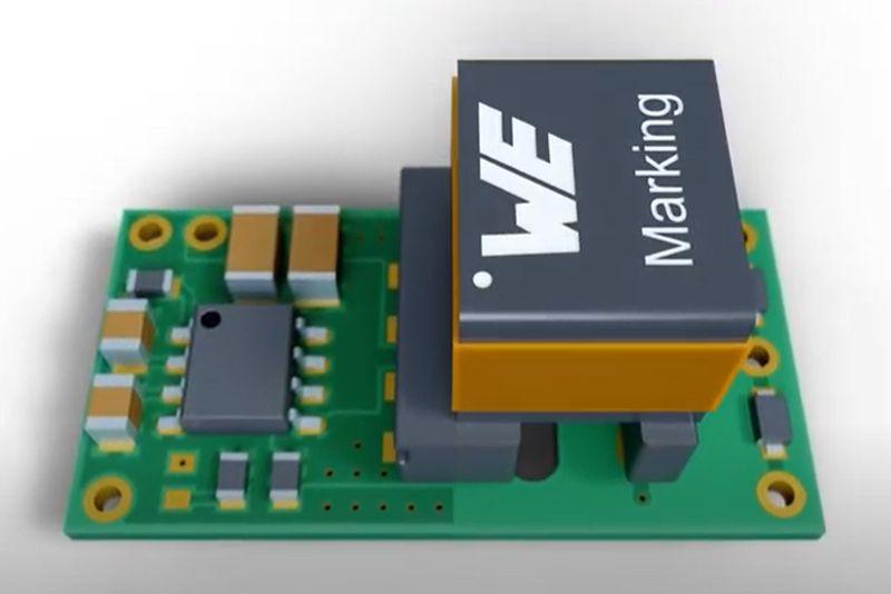 WE-AGDT - SMT трансформатори за SiC-MOSFET гейт драйвери