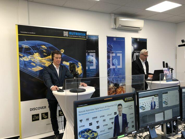 Нови тенденции в автомобилостроенето разкри <strong>Rutronik</strong> Automotive Digital Forum