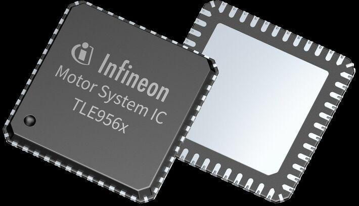Нова серия <strong>интегрални</strong> <strong>схеми</strong> за управление на двигатели на Infineon