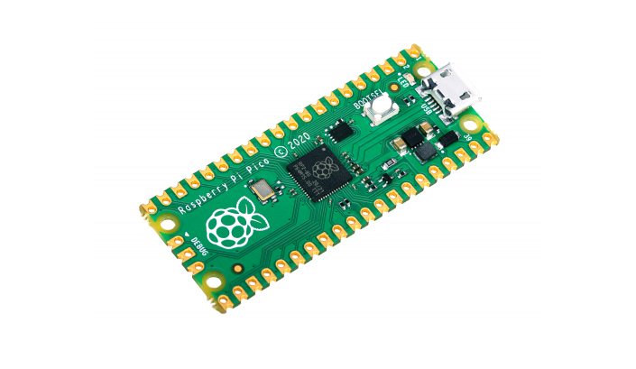 Raspberry Pi Pico е първият, базиран на новия микроконтролер RP2040