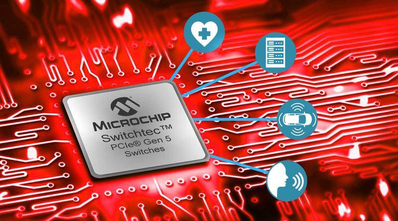 <strong>Microchip</strong> представи първите PCI Express комутатори от пето поколение