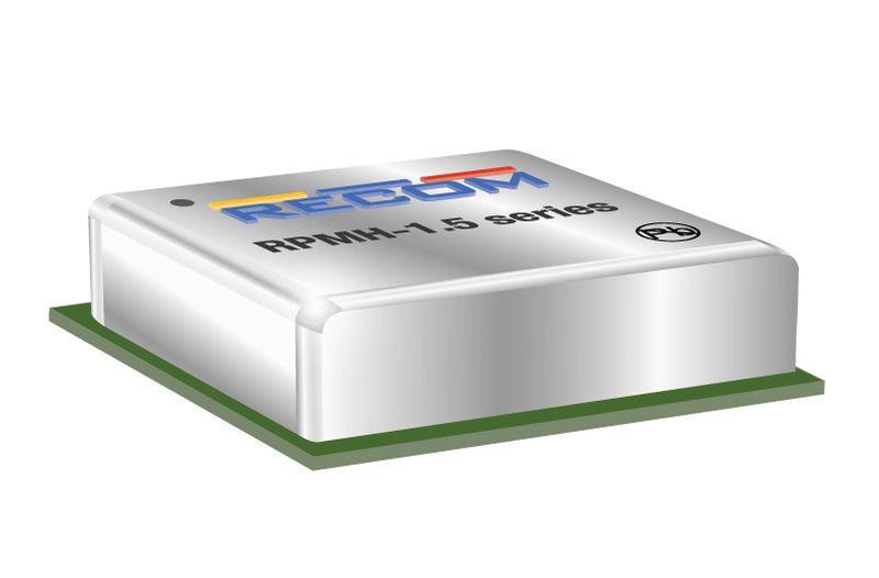 Серия импулсни регулатори RPMH-1.5 на RECOM