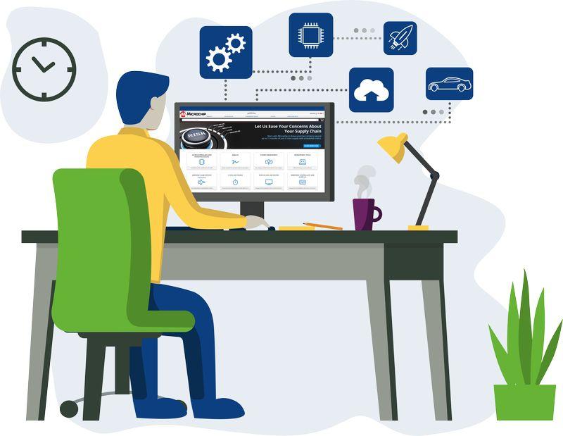 Започна записванeто за безплатните онлайн курсове за разработчици на Microchip
