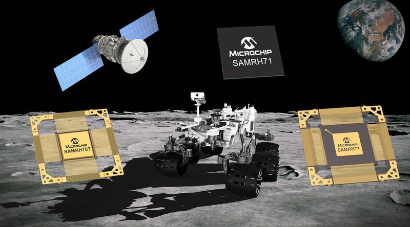<strong>Microchip</strong> разширява фамилията радиационноустойчиви Arm микроконтролери за космически приложения