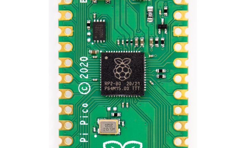 Микроконтролер Raspberry Pi RP2040